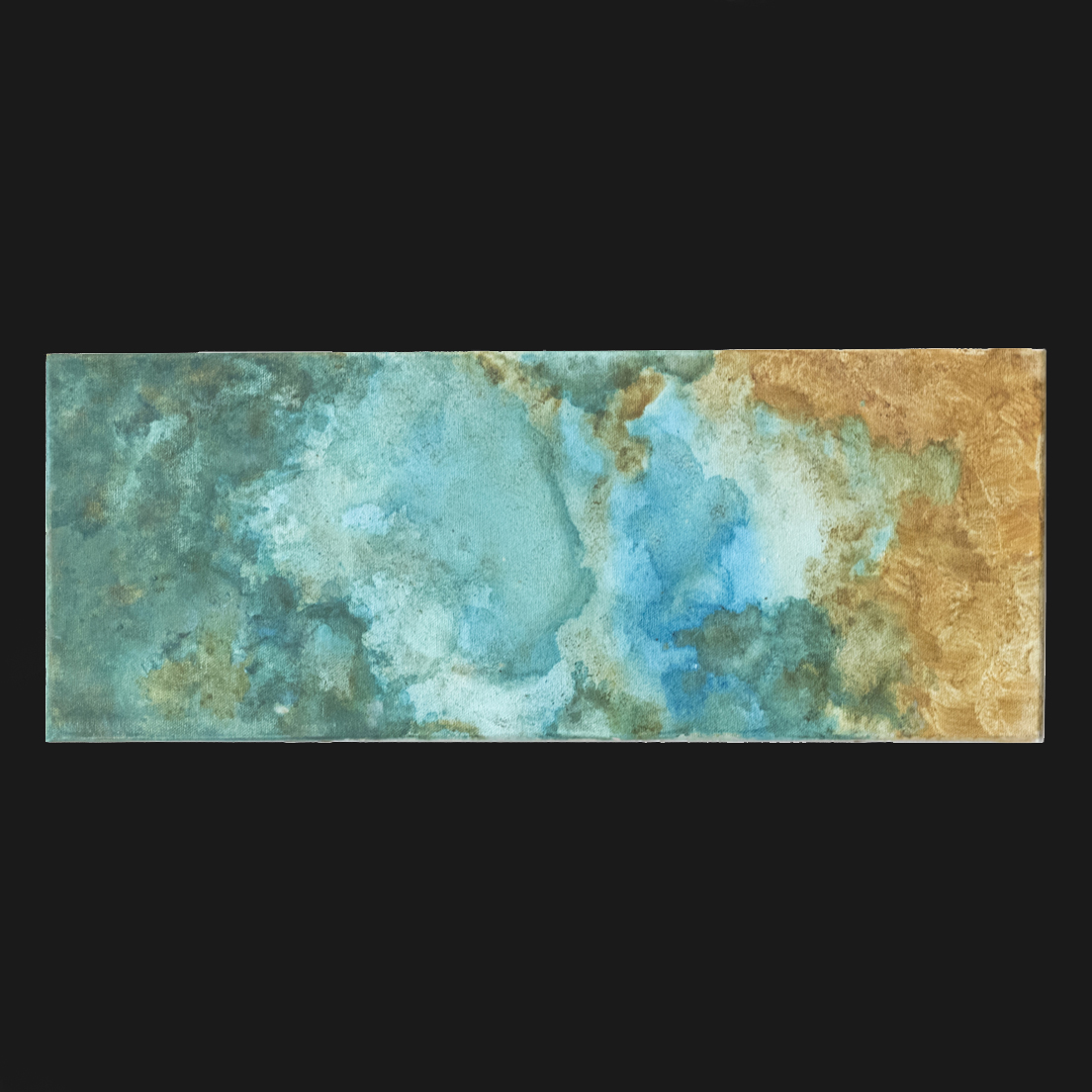 Azane — bronze patina on canvas