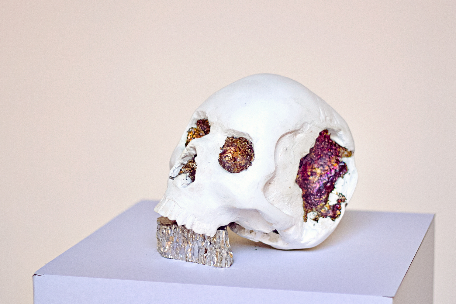 Bismuth skull made by riikc