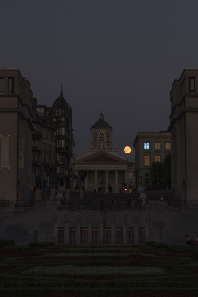 Brussels Moon in June 2014