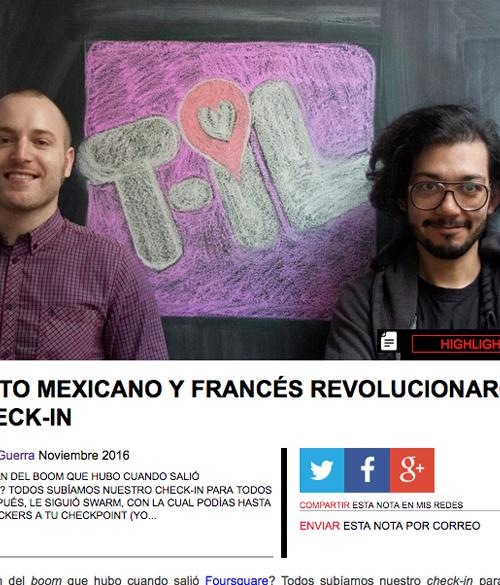 Entrevista con PRO MTY Magazine, 2016