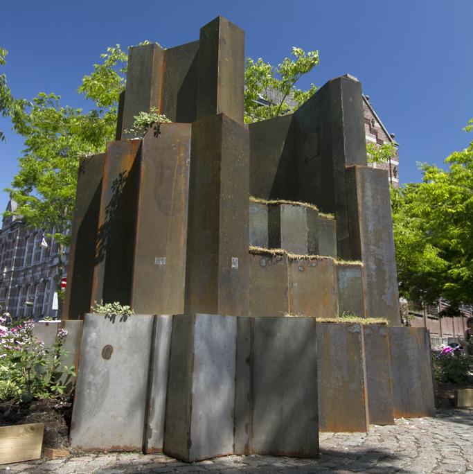 Steel Sculpture Ath
