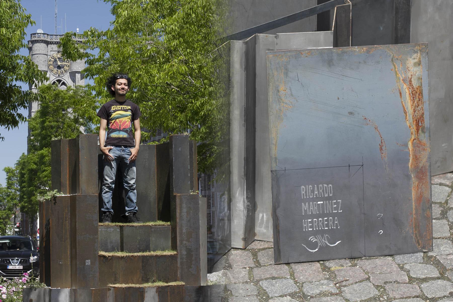 Sculpture en acier creé par Ricardo Martinez Herrera - Riikc